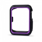 Buy Protective Bumper Case Shock-proof Shatter-resistant Cover 38mm Apple Watch Series 3/2/1, Nike+ Sport Edition - Purple