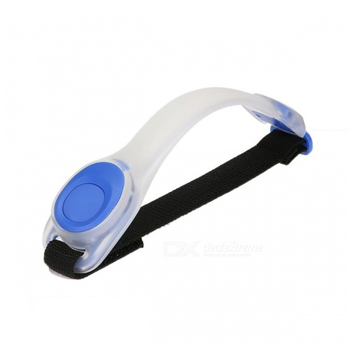 Outdoor Night Riding Silicone LED Elastic Arm Leg Band Safe Warning Strap - BlueBike Light<br>Form  ColorBlueModelSilicone LightQuantity1 DX.PCM.Model.AttributeModel.UnitMaterialSilicone + electronic componentsColor BINOthers,N/ANumber of Emitters2Battery2 x 2032 BatteriesBattery included or notNoNumber of ModesOthers,N/AMode ArrangementOthers,N/AApplicationOthers,N/APacking List1 x LED Strap<br>