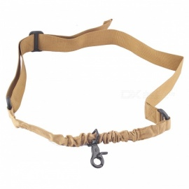 ACCU Tactical Military Single Point Rifle Gun Sling Strap - CP Camouflage