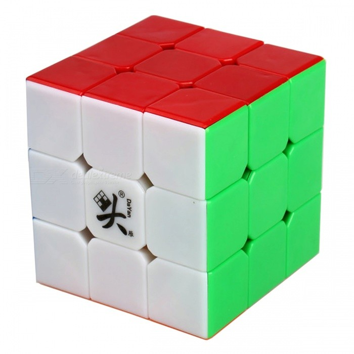 DaYan LunHui 56mm 3x3x3 Smooth Speed Magic Cube Puzzle Toy for Kids, Adults - Multicolour