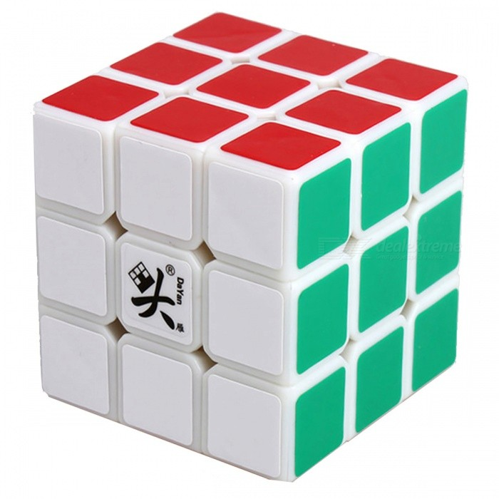 DaYan LunHui 56mm 3x3x3 Smooth Speed Magic Cube Puzzle Toy for Kids, Adults - WhiteMagic IQ Cubes<br>Form  ColorWhite (56mm)ModelN/AMaterialABSQuantity1 DX.PCM.Model.AttributeModel.UnitType3x3x3Suitable Age 3-4 years,5-7 years,8-11 years,12-15 years,Grown upsPacking List1 x Magic Cube<br>