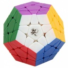 Dayan Megaminx Long Side 32mm Smooth Speed Magic Cube Puzzle Toy for Kids, Adults - Multicolour