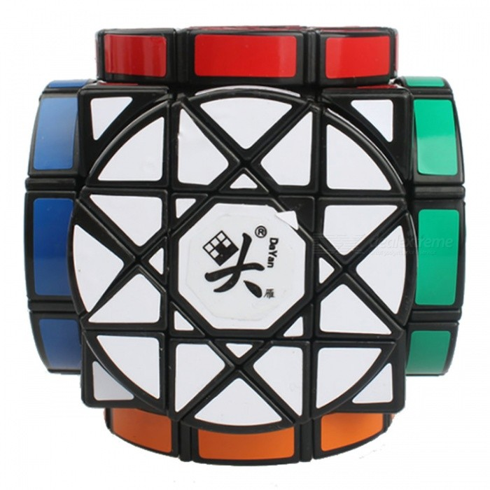 DaYan 90mm Wheel of Wisdom Smooth Speed Magic Cube Puzzle Toy for Kids, Adults - Black