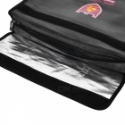 "ENGPOW Dual Layer Waterproof Security Fireproof Document Bag with Shoulder Strap (15"" x 11"" x 3"")"