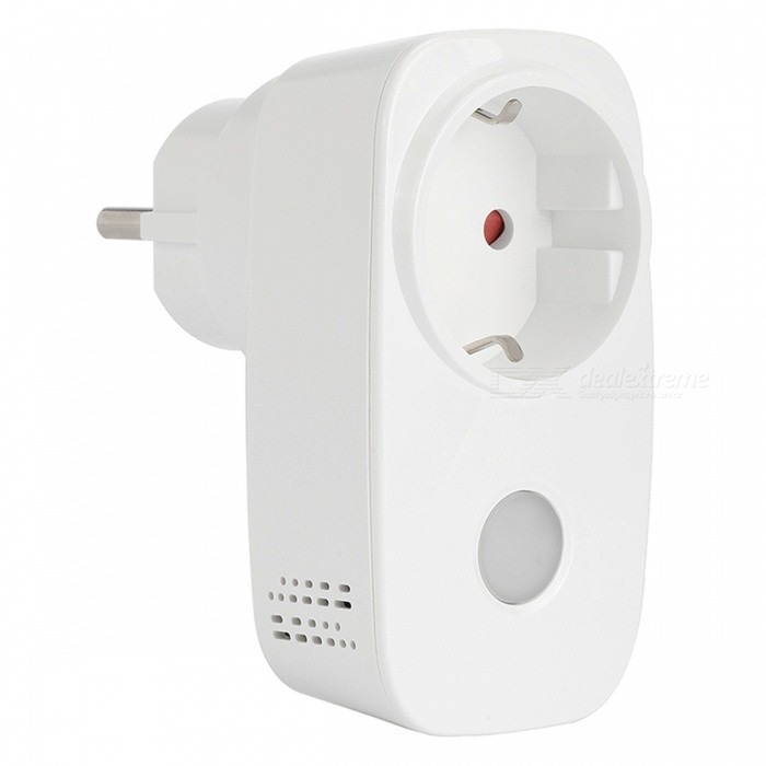 BroadLink SP3S Intelligent Home Automation System Smart Wi-Fi Socket with Power Meter - White (EU Plug)