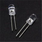 500Pcs Q5/5mm 8000-10000MCD 3500K Red Light In-Line LEDs (3.0~3.4V)