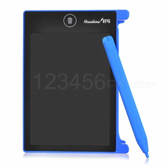 Portable Mini 4.5 LCD Writing Tablet, Drawing Board Use with Stylus for ChildrenOther Stationeries<br>Form  ColorBlack + BlueMaterialABSQuantity1 DX.PCM.Model.AttributeModel.UnitPacking List1 x Handwriting board<br>