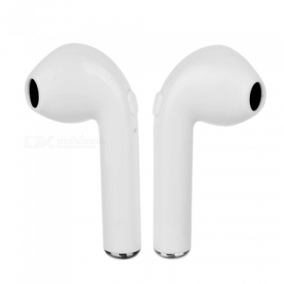 i7S TWS Mini Twins Ture Bluetooth Wireless Earbuds Earphone Earpieces with Charging Box - White