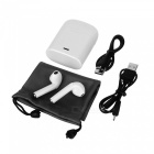 HBQ-i7S TWS Mini Twins Ture Bluetooth Wireless Earbuds Earphone Earpieces with Charging Box - White