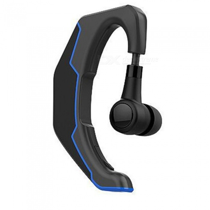 KELIMA Q3 Portable Sports Wireless Bluetooth V4.1 Stereo Headset - BlueHeadphones<br>Form  ColorBlueBrandOthers,KELIMAModelQ3MaterialABSQuantity1 DX.PCM.Model.AttributeModel.UnitConnectionBluetoothBluetooth VersionBluetooth V4.1Operating Range10MConnects Two Phones SimultaneouslyYesCable Length0 DX.PCM.Model.AttributeModel.UnitHeadphone StyleUnilateral,Headband,Ear-hookWaterproof LevelIPX0 (Not Protected)Applicable ProductsUniversalHeadphone FeaturesLong Time StandbyRadio TunerNoSupport Memory CardNoMax. Memory Supported0Support Apt-XYesBattery TypeLi-polymer batteryBuilt-in Battery Capacity 150 DX.PCM.Model.AttributeModel.UnitStandby Time120 DX.PCM.Model.AttributeModel.UnitTalk Time6.5 DX.PCM.Model.AttributeModel.UnitPower AdapterUSBPower Supply5VPacking List1 x Bluetooth Headset1 x USB line1 x Manual1 x Earplugs<br>