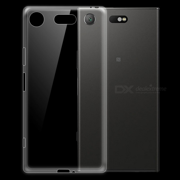 Dayspirit Ultra-thin TPU Back Case for Sony Xperia XZ1 Compact, XZ1 Mini - Transparent