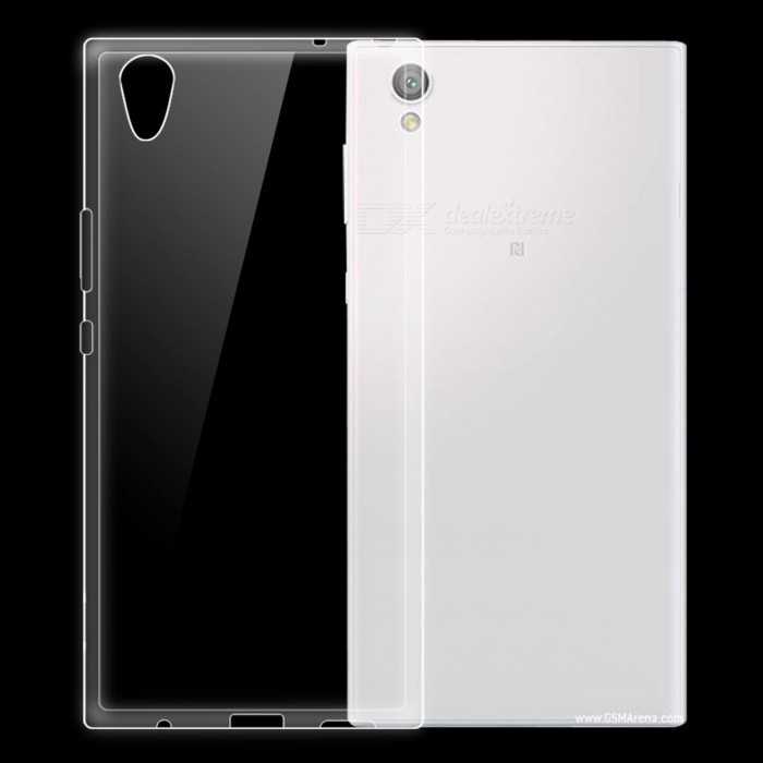 Dayspirit Ultra-thin Protective TPU Back Case for Sony Xperia L1 - Transparent