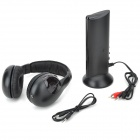 5-in-1 Wireless FM Radio Headset with Transmitter Base Station + Remote Monitoring
