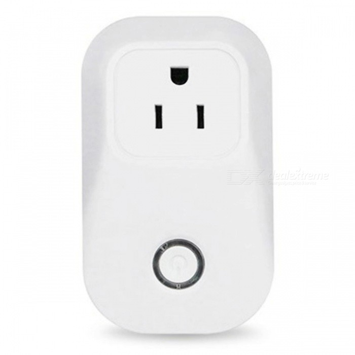 Sonoff S20 Smart Wi-Fi Remote Control Socket Outlet, Timing Switch  - White (US Plug)Home Smart Devices<br>Form  ColorWhite (US Plug)ModelSonoff S20Quantity1 DX.PCM.Model.AttributeModel.UnitMaterialABSPower2000 DX.PCM.Model.AttributeModel.UnitRate Voltage90-250VPower AdapterUS PlugPacking List1 x Wi-Fi smart power plug<br>