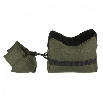 Rifle Gun Front Rear Shooting Bag Sandbag for Hunting Target - Green