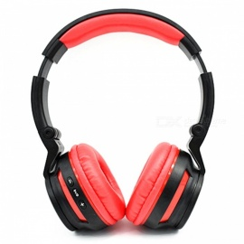 KELIMA Sports Wireless Bluetooth V3.0 Stereo Headset Headphones - Red + Black