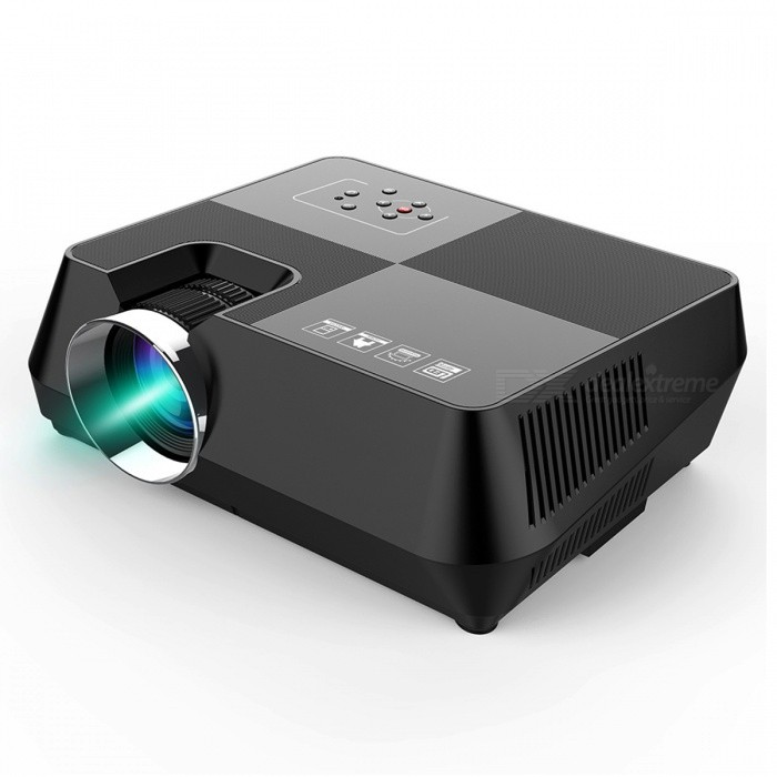 BLCR B8 Portable Mini 150Lumens HDMI USB Home LED Projector, Video Game Movie Projector Beamer (US Plug)Projectors<br>Form  ColorUS PlugBrandOthers,BLCRModelB8Quantity1 DX.PCM.Model.AttributeModel.UnitMaterialABSShade Of ColorBlackTypeLCDBrightness1000~1999 lumensBrightness150 DX.PCM.Model.AttributeModel.UnitMenu LanguageEnglish,French,German,Italian,Spanish,Portuguese,Russian,Polish,Greek,Danish,Norwegian,DutchBuilt-in SpeakersYesLife Span30,000 DX.PCM.Model.AttributeModel.UnitEmitter BINLEDDisplay Size30~120 inchAspect RatioOthers,4:3 / 16:9Contrast Ratio1000:1Native Resolution800x480Maximum Resolution1080PMaximum Resolution1920x1080Throw Distance2~5mInput ConnectorsAV,VGA,USB,HDMIPower Consumption60W~79WPower Consumption60WPower AdapterUS PlugPacking List1 x Projector1 x Power cable1 x Remote control (2 x AAA, not included)1 x AV cable1 x User manual<br>