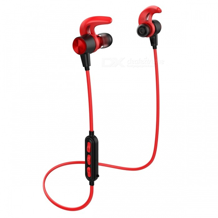 wireless headphones bluetooth 4 1 earbuds sweatproof sport earphones with 12 hours play time. Black Bedroom Furniture Sets. Home Design Ideas