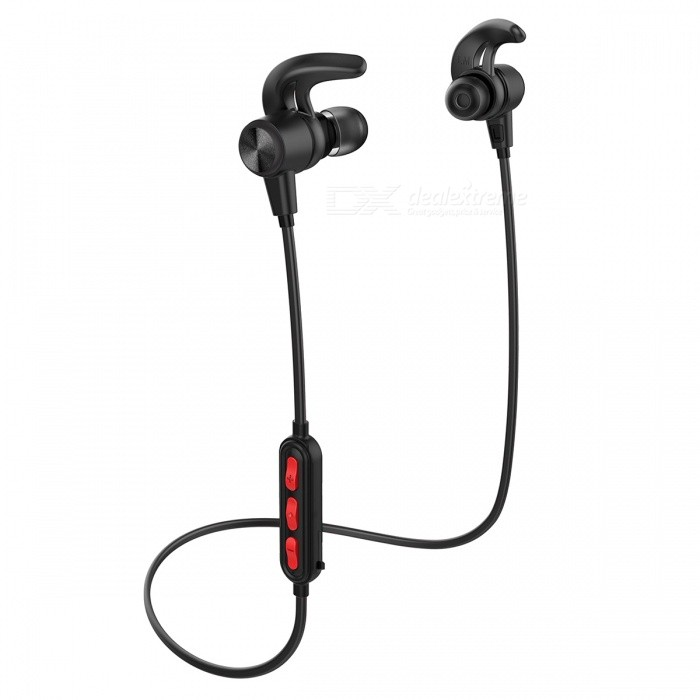 Wireless Headphones, Bluetooth 4.1 Earbuds Sweatproof Sport Earphones with 12 Hours Play Time for Running, Gym, Exercise and WorHeadphones<br>Form  ColorBlackBrandOthers,OrigemModelG-01MaterialABS + MetalQuantity1 DX.PCM.Model.AttributeModel.UnitConnectionBluetoothBluetooth VersionBluetooth V4.1Headphone StyleHeadband,Earbud,In-Ear,Ear-hookWaterproof LevelIPX5Applicable ProductsUniversalHeadphone FeaturesLightweight,Portable,For Sports &amp; ExerciseSupport Memory CardYesSupport Apt-XYesPacking List1 x Bluetooth earphone1 x Pouch bag1 x Manual Instruction1 x Packing box<br>