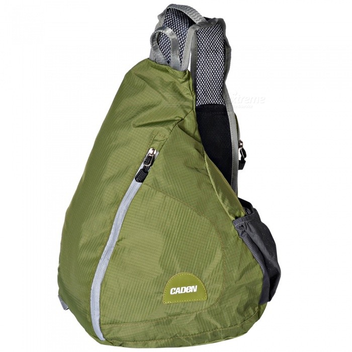 CADEN H5 Outdoor Foldable Water Resistant Shoulder Bag - GreenForm  ColorGreenBrandOthers,Others,CADENModelH5Quantity1 pieceMaterialNylonTypeHiking &amp; CampingGear Capacity15 LCapacity Range0L~20LFrame TypeExternalNumber of exterior pockets3Raincover includedNoBest UseSwimming,Running,Climbing,Family &amp; car camping,Mountaineering,Travel,CyclingTypeHiking DaypacksPacking List1 x Backpack<br>
