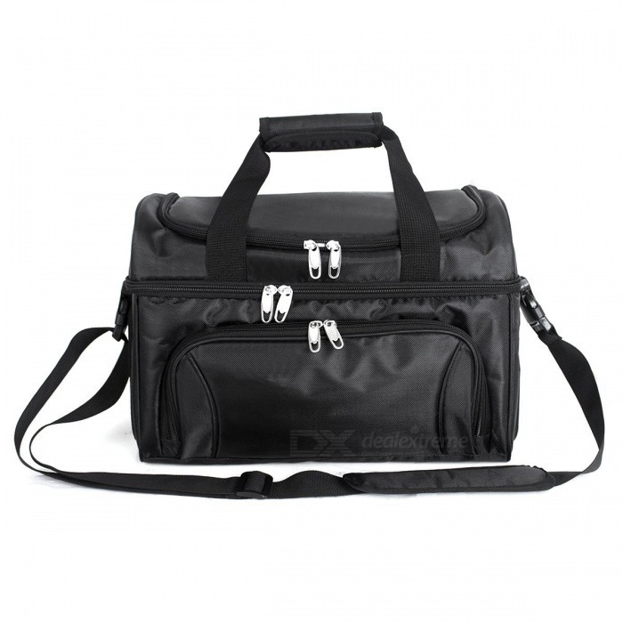 840D Heavy-Duty Polyester Large Soft Cooler Bag with Two Insulated Compartments, Removable Shoulder Strap - BlackForm  ColorBlackBrandOthers,Others,UnigearModel02367Quantity1 DX.PCM.Model.AttributeModel.UnitMaterial840D PolyesterTypeHiking &amp; CampingGear Capacity40 DX.PCM.Model.AttributeModel.UnitCapacity Range20L~40LRaincover includedNoPacking List1 x Bag<br>