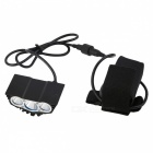 ZHAOYAO Bicycle Bike XM-L2 T6 4-Mode 1500lm Headlight Water Resistant Headlamp