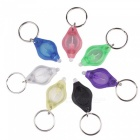 7Pcs Mini LED Keychain Finger Lights - Mixed color