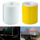 Reflective Safety Warning Conspicuity Tape Film Sticker - Yellow