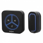 Portable Mini Wireless Doorbell - Black (US Plug)