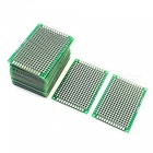 6*4cm Double-Side Prototype PCB Circuit Boards for Arduino - Green (20 PCS)
