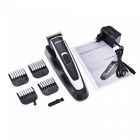 Men's Professional Electric Hair Clipper Trimmer for Barber - Black