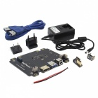 "Geekworm X820 Raspberry Pi 2.5"" SATA HDD&SSD Storage Board + DC 5V 4A Power Adapter w/ EU, US Plug Kit for Raspberry Pi"