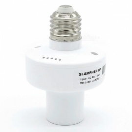 Sonoff Slampher RF 433MHz Wi-Fi E27 Smart Light Holder, Works with Alexa & Google Nest & Google Home - White
