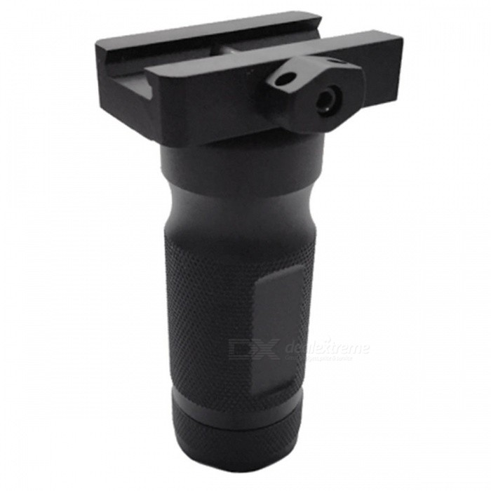 ACCU New Aluminum Alloy Tactical Gun Grip - BlackOther Accessories<br>Form  ColorBlackMaterialAluminum alloyQuantity1 DX.PCM.Model.AttributeModel.UnitGun TypeFor 20mm rail gunPacking List1 x Grip<br>