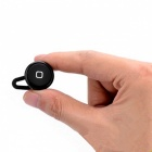 Blutus YE-106 Mini Invisible Bluetooth Wireless Earphone with Mic - Black