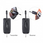 Professional UHF Wireless Audio Digital Transmitter & Receiver Kit for Electric Guitar, Bass, Violin