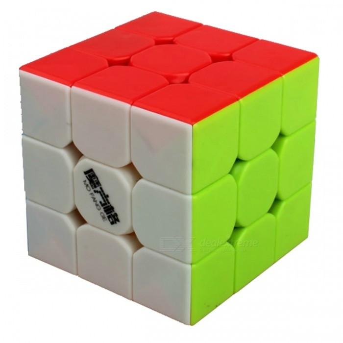 QiYi MoFangGe Speed Cube 3x3 Smooth Magic Cube Puzzles Toy - 57mmMagic IQ Cubes<br>Form  ColorMulticolourModelN/AMaterialABSQuantity1 DX.PCM.Model.AttributeModel.UnitType3x3x3Suitable Age 3-4 years,5-7 years,8-11 years,12-15 years,Grown upsPacking List1 x Magic Cube<br>