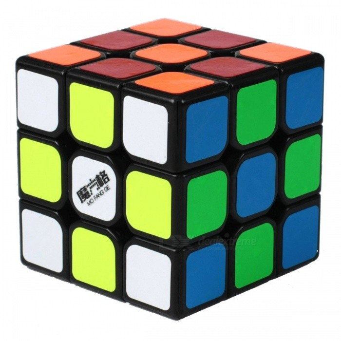 QiYi MoFangGe Speed Cube 3x3 Smooth Magic Cube Puzzles Toy - 57mmMagic IQ Cubes<br>Form  ColorBlackModelN/AMaterialABSQuantity1 DX.PCM.Model.AttributeModel.UnitType3x3x3Suitable Age 3-4 years,5-7 years,8-11 years,12-15 years,Grown upsPacking List1 x Magic Cube<br>