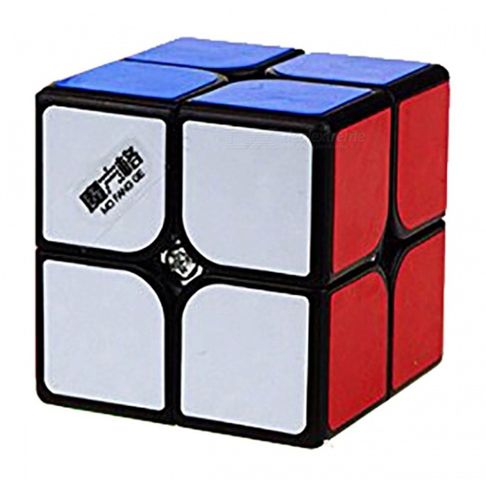 MoFangGe Knight Speed Cube 2x2 Smooth Magic Cube Puzzles Toy - 50mmMagic IQ Cubes<br>Form  ColorBlackModelN/AMaterialABSQuantity1 DX.PCM.Model.AttributeModel.UnitTypeOthers,2x2x2Suitable Age 3-4 years,5-7 years,8-11 years,12-15 years,Grown upsPacking List1 x Magic Cube<br>