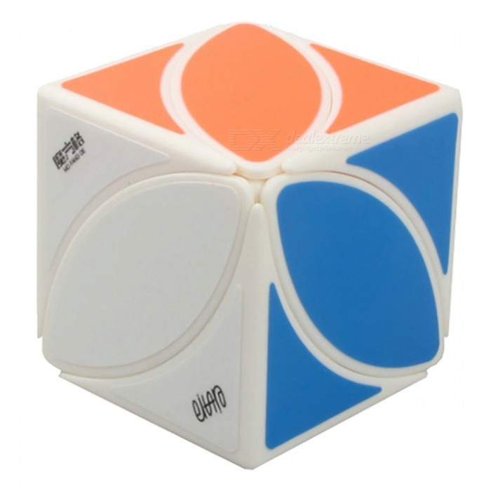 MoFangGe FengYe Speed Cube Smooth Magic Cube Puzzles Toy - White (56.5mm)Magic IQ Cubes<br>Form  ColorWhite(56.5mm)ModelN/AMaterialABSQuantity1 DX.PCM.Model.AttributeModel.UnitTypeOthersSuitable Age 3-4 years,5-7 years,8-11 years,12-15 years,Grown upsPacking List1 x Magic Cube<br>