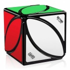 MoFangGe FengYe Speed Cube Smooth Magic Cube Puzzles Toy - Black (56.5mm)