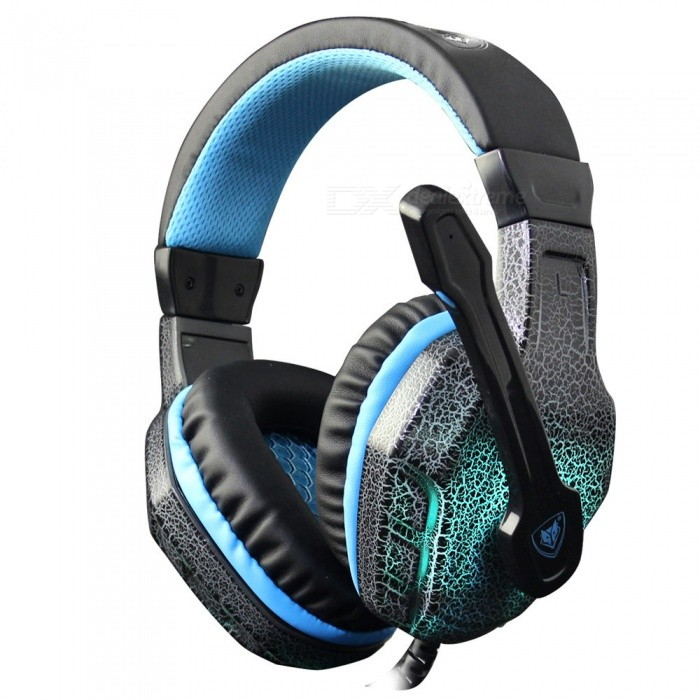 NUBWO NO-3000 Stereo Gaming Headset�� Gamer Casque Headphone w/ LED Colorful Lights�� Mic for PC�� PS4�� 2016 New Xbox One�� Laptop