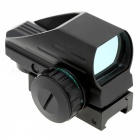 Premium 1x33 Telescópica Red Green Dot Laser Reflex Sight - Negro
