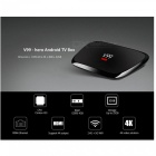 V99 HERO Android 5.1 RK3368 Octa-Core Smart TV Box 4K Media Player Set Top Box with 4GB RAM, 32GB ROM - US Plug