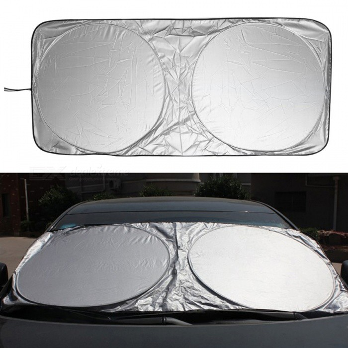 fd1925a2707 Car Sunshade Sun Shade Front Rear Window Film Windshield Visor UV Protect  Cover - 150 x 70CM - Free shipping - DealExtreme
