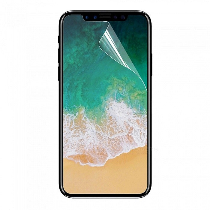 Mini Smile Scratch-proof Matte ARM Screen Protector for IPHONE X - TransparentScreen Protectors<br>Screen TypeMatteModelIX-ARQuantity1 pieceMaterialARMForm  ColorTransparentCompatible ModelsiPhone XStyleScreen protectorScreen FeaturesScratch Proof,Fingerprint ProofPacking List1 x Screen protector1 x Cleaning cloth<br>