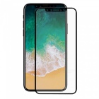Protecrive 0.2mm Full Coverage Tempered Glass Screen Protector Film with Black Border for IPHONE X