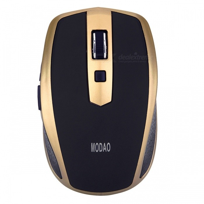 MODAO Mini Portable Bluetooth V3.0 Wireless Mouse with 6 Keys, Max 1600DPIWireless Mouse<br>Form  ColorBlack + EarthyModelE41Quantity1 DX.PCM.Model.AttributeModel.UnitMaterialABSShade Of ColorBlackInterfaceOthers,BluetoothWireless or WiredBluetoothOptical TypeLEDResolution800-1200-1600Button life8 millionBluetooth VersionBluetooth V3.0Operating Range10 DX.PCM.Model.AttributeModel.UnitPowered ByAAA BatteryBattery included or notNoBattery Number2Supports SystemWin xp,Win 2000,Win 2008,Win vista,Win7 32,Win7 64,Win8 32,Win8 64,MAC OS X,IOS,Linux,Android 2.x,Android 4.xTypeErgonomic,Others,MiniPacking List1 x Bluetooth 3.0 Wireless Mouse1 x User Guide<br>
