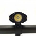 P-TOP Bicycle Front Light Touch Switch Headlight USB Rechargeable LED Waterproof Flashlight - Black