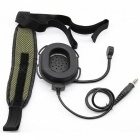 Z Tactical HD01 Special Forces Walkie-talkie Unilateral Tactical Headset with K Head U94PTT